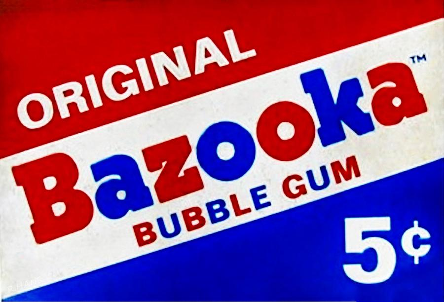 Image result for Bazooka Bubble Gum