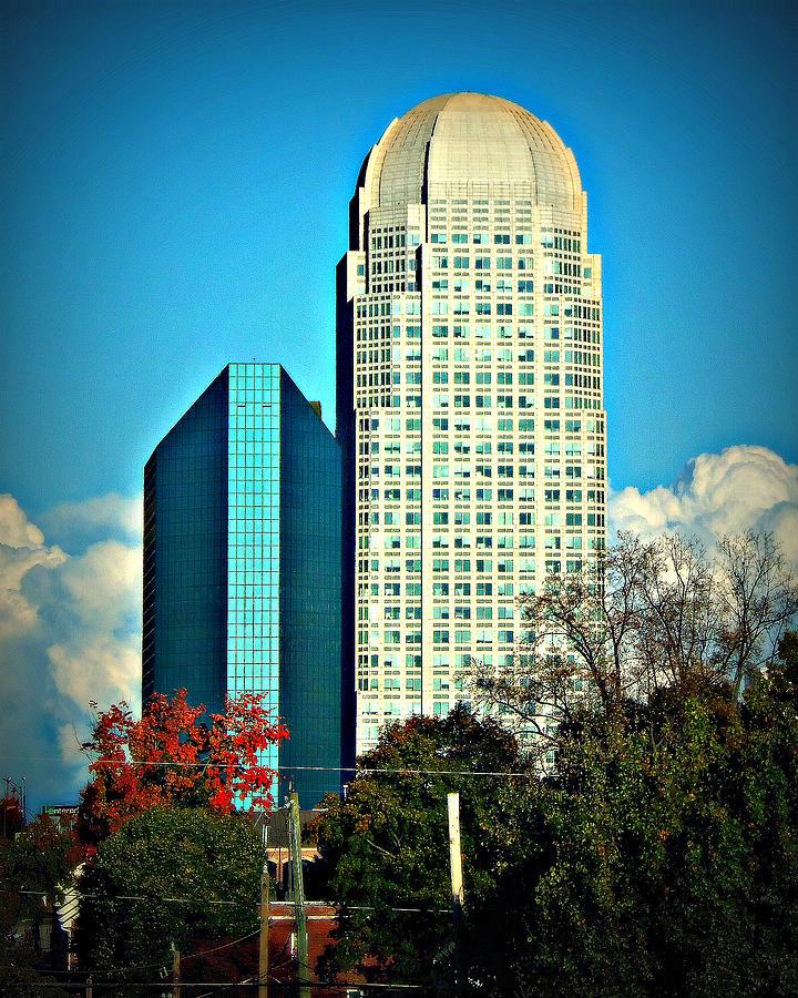 Bbandt And Wells Fargo Center Downtown Winston Salem Nc