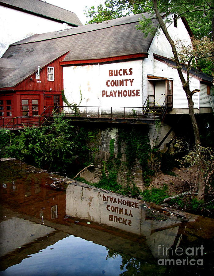Barns Photograph - Bc Playhouse by Colleen Kammerer