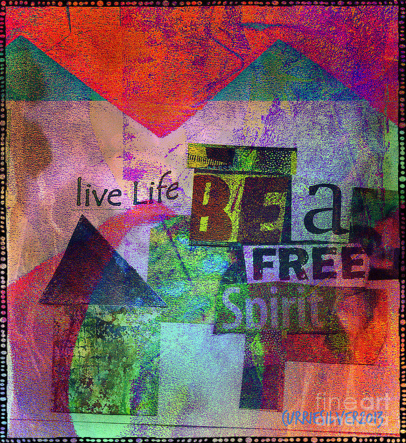 Be A Free Spirit Digital Art by Currie Silver