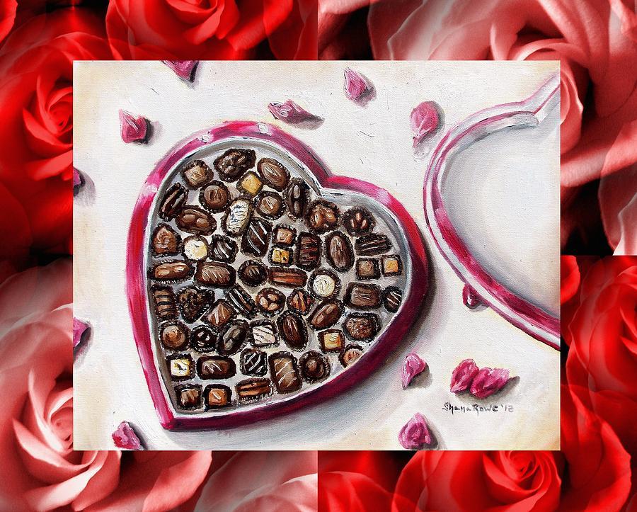Love Mixed Media - Be My Valentine by Shana Rowe Jackson