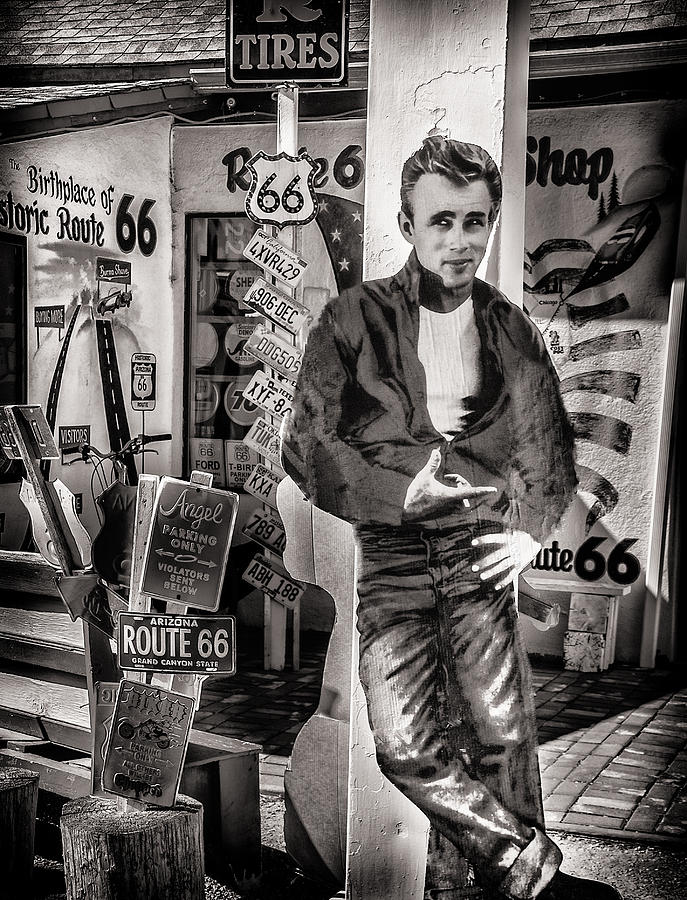 James Dean Photograph - Be Still My Heart by Diane Wood
