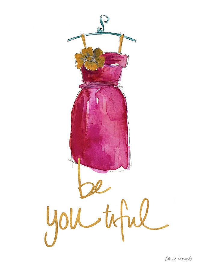 Hello Digital Art - Be You Tiful Dress by Lanie Loreth