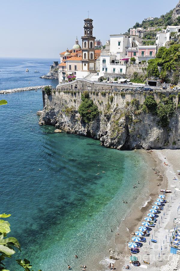 Beach At The Amalfi Coast