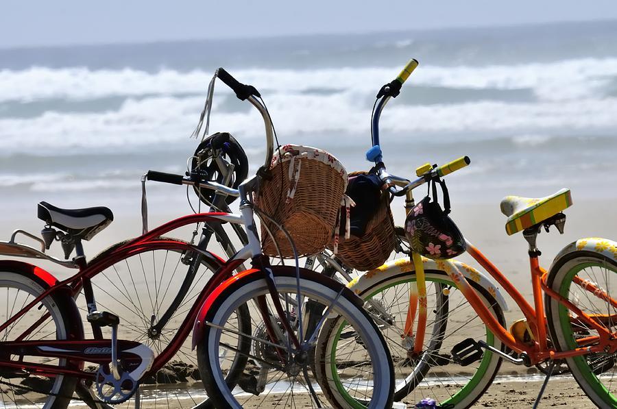 Beach Bikes 25570 Photograph
