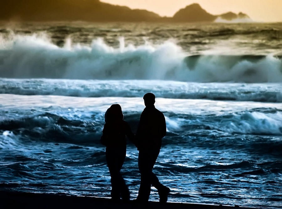 Couple Photograph - Beach Buddies by Camille Lopez