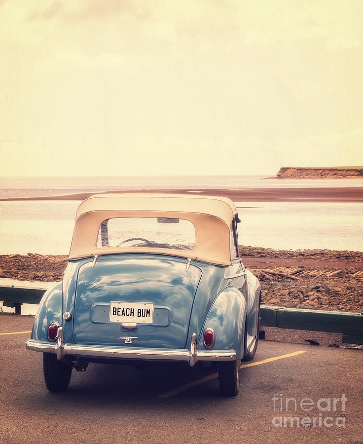 Automobile Photograph - Beach Bum by Edward Fielding