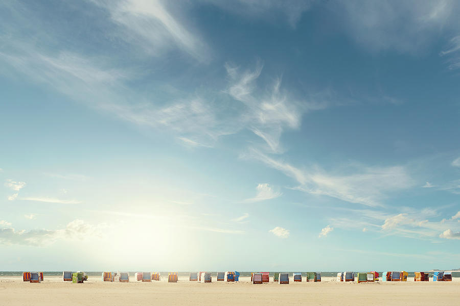 Beach Chairs Photograph by Ppampicture