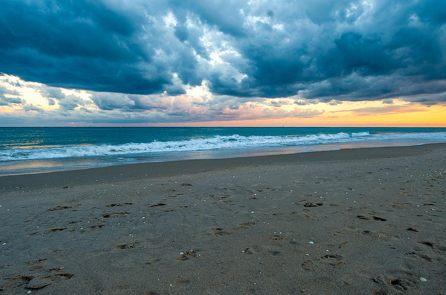Clouds Photograph - Beach Clouds by Paul Johnson