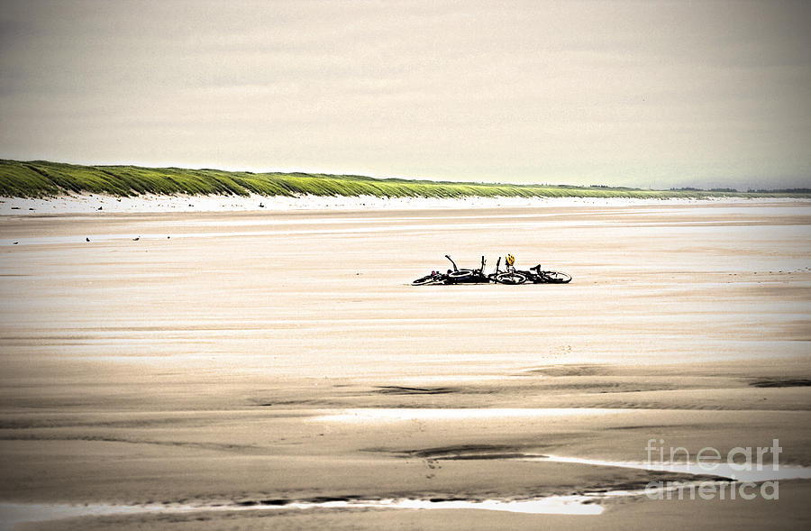 Beach Cycles by Karen Ulvestad