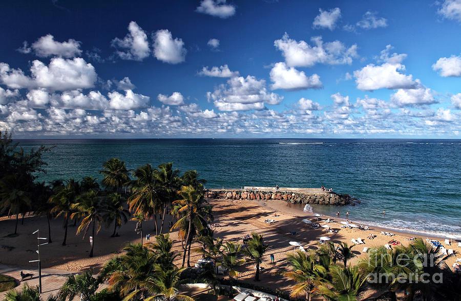 Beach Photograph - Beach Day At San Juan by John Rizzuto