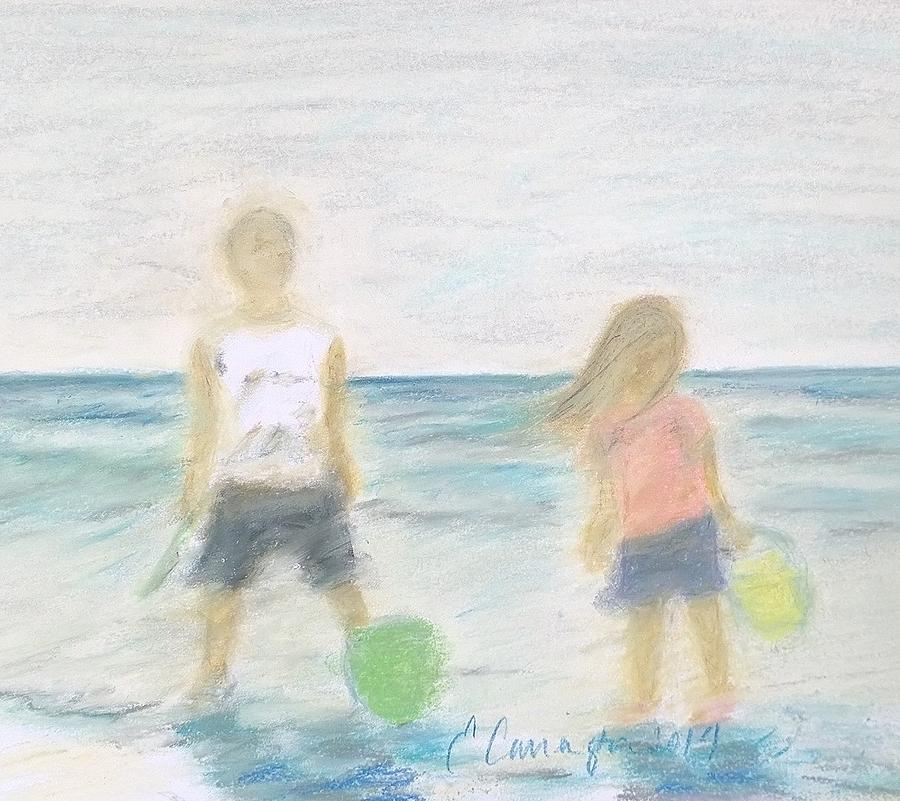 Sea Isle Pastel - Beach Dreams by E Carrington