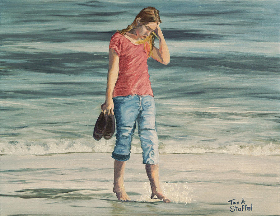 Beach Painting - Beach Dreams by Tina Stoffel