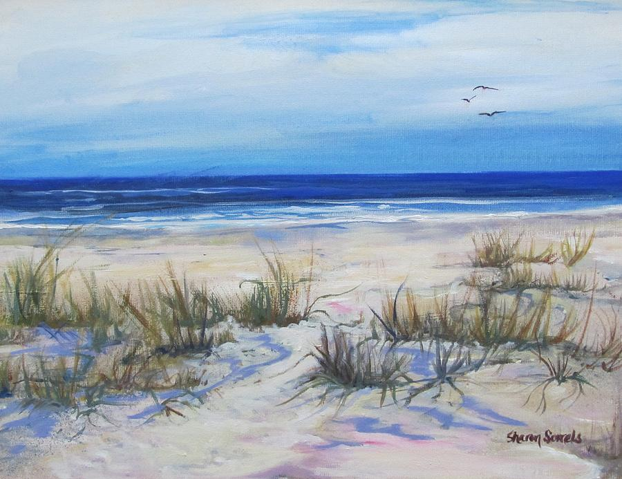 Beach Grasses by Sharon Sorrels