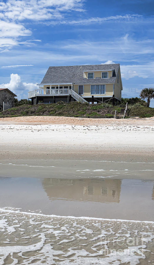 Beach House Photograph - Beach House by Kay Pickens