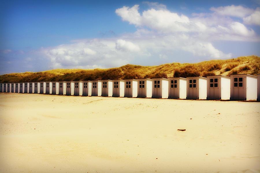 Beach Houses Photograph by Simon Sier