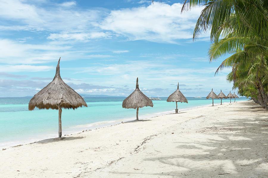 Beach In Panglao, Bohol, Philippines Photograph by John Harper