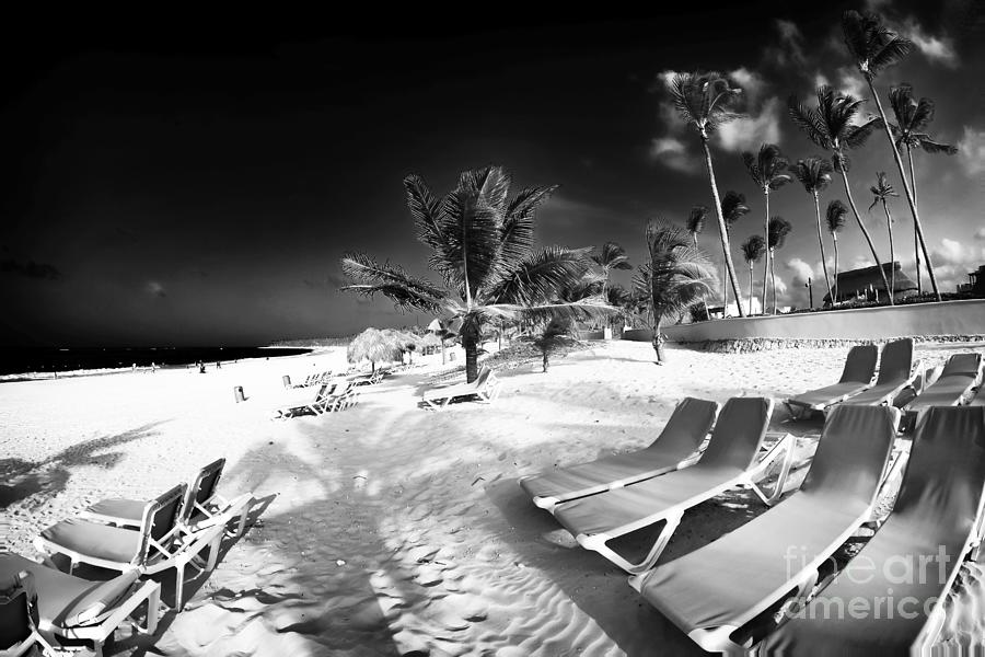 Sand Photograph - Beach Lounging by John Rizzuto