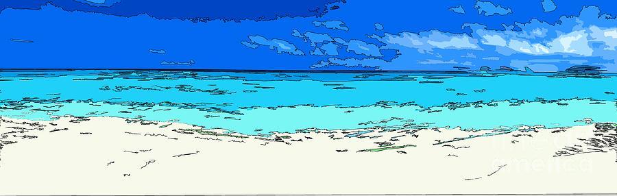 Ocean Photograph - Beach Love by Keri West