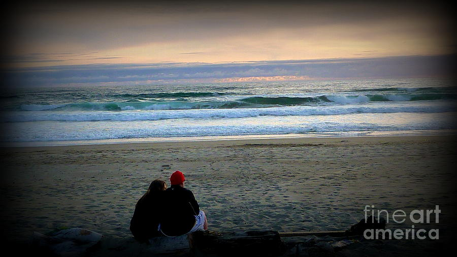 Scenic Landscape Photograph - Beach Lovers by Susan Garren