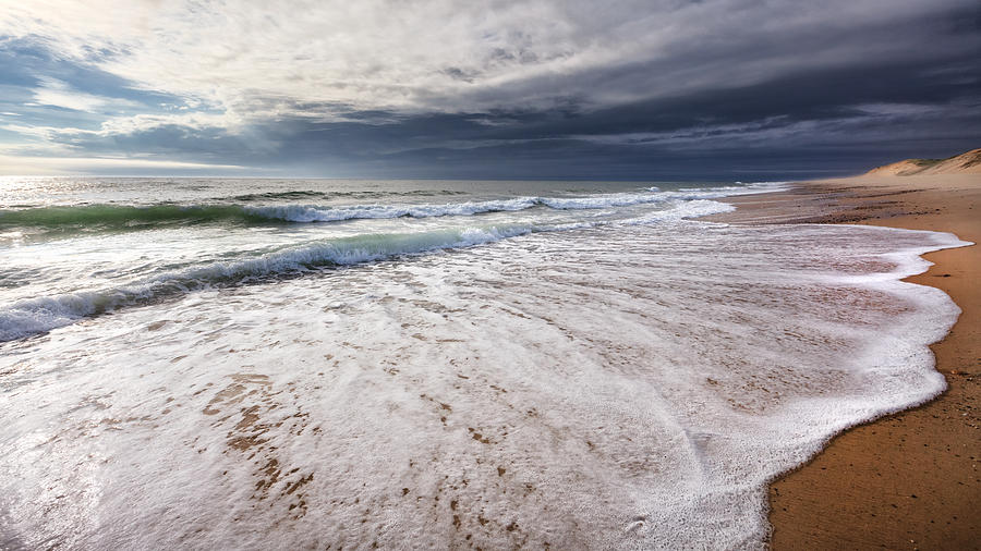 Beach Photograph - Beach Morning by Bill Wakeley