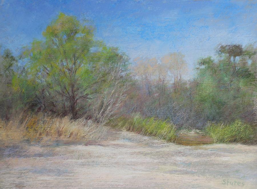 Beach Painting - Beach  by Nancy Stutes