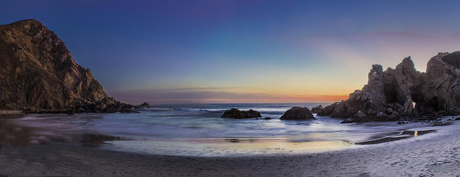 Pfeiffer Photograph - Beach Oasis by Jeremy Jensen