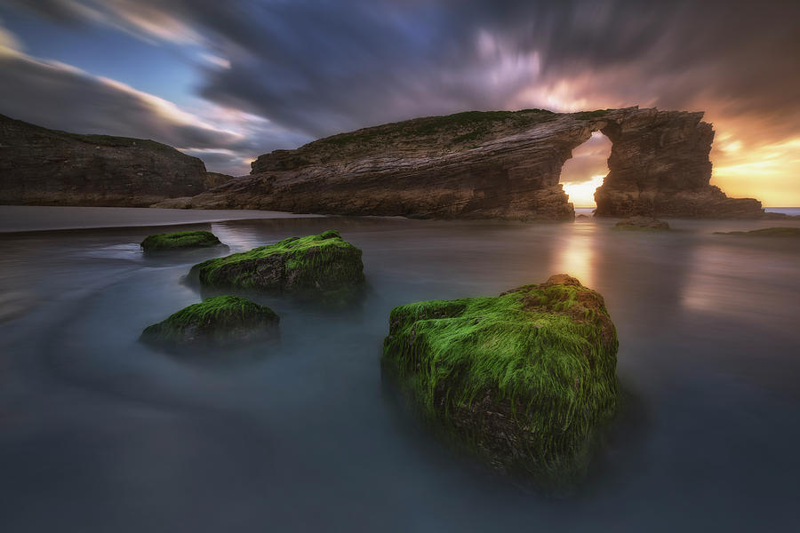 Beach Of The Cathedrals Photograph by Carlos F. Turienzo