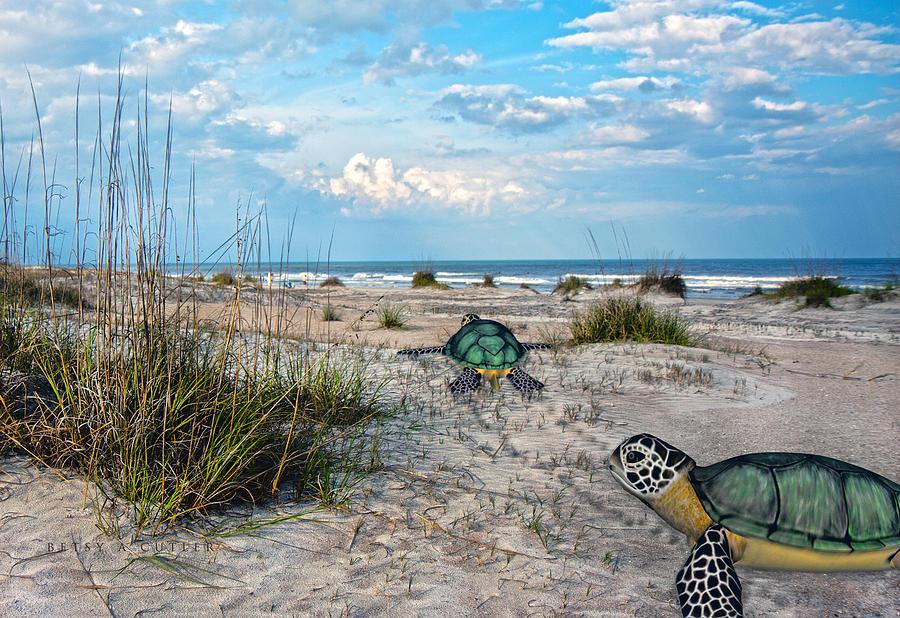 Beach Pals Digital Art