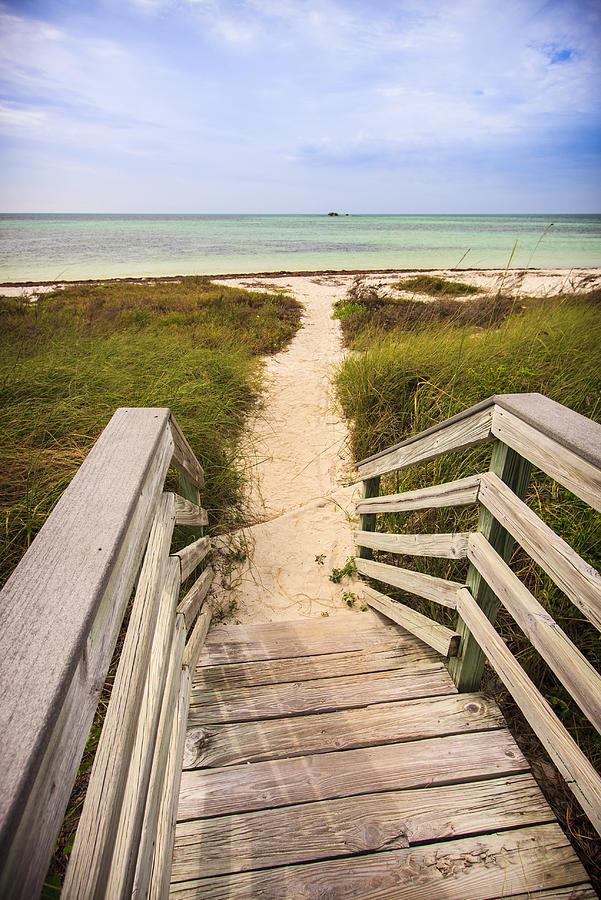 3scape Photos Photograph - Beach Path by Adam Romanowicz