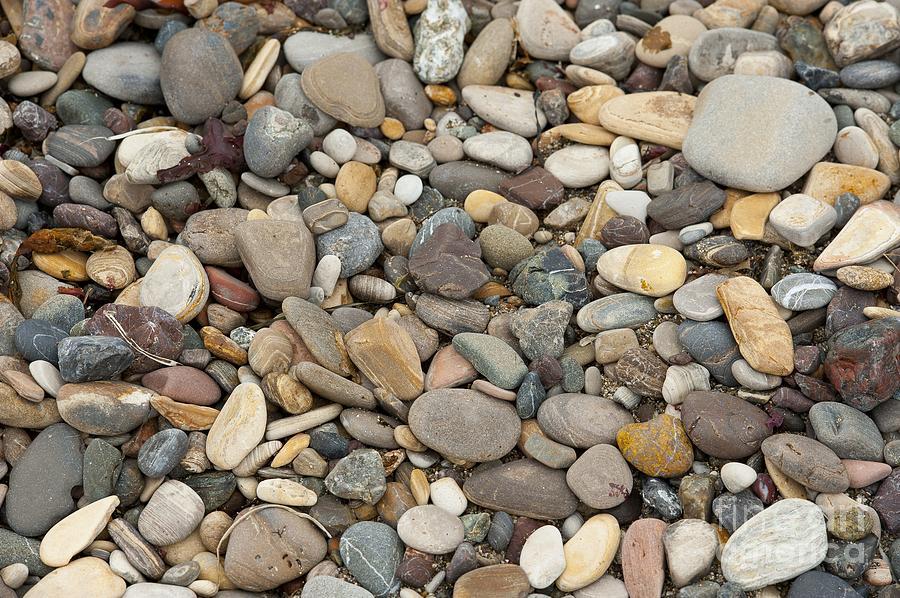 Ocean Photograph - Beach Rocks by Artist and Photographer Laura Wrede