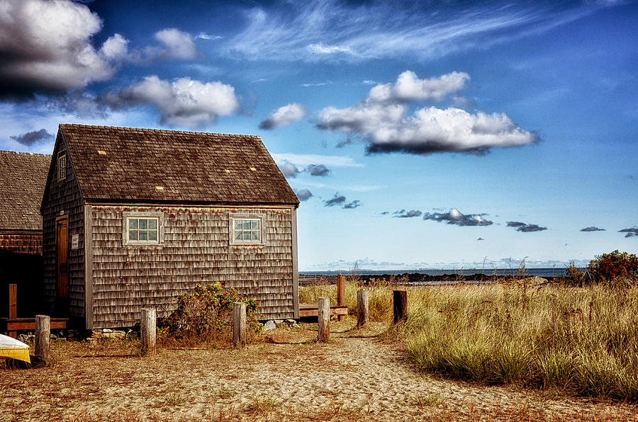 Nature Photograph - Beach Shack by Tricia Marchlik