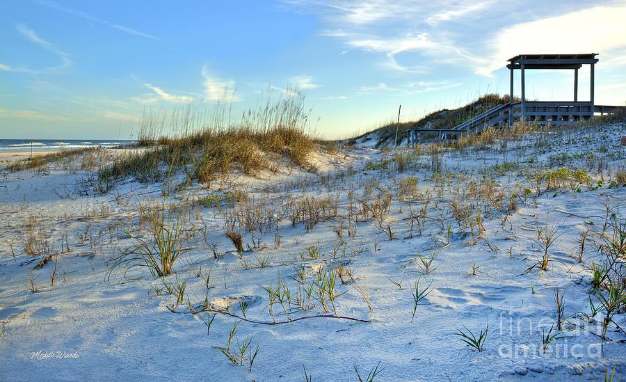 Beach Photograph - Beach Stairs by Michelle Wiarda