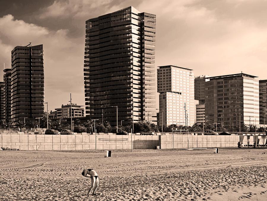 beach, Barcelona by Stefano Buonamici