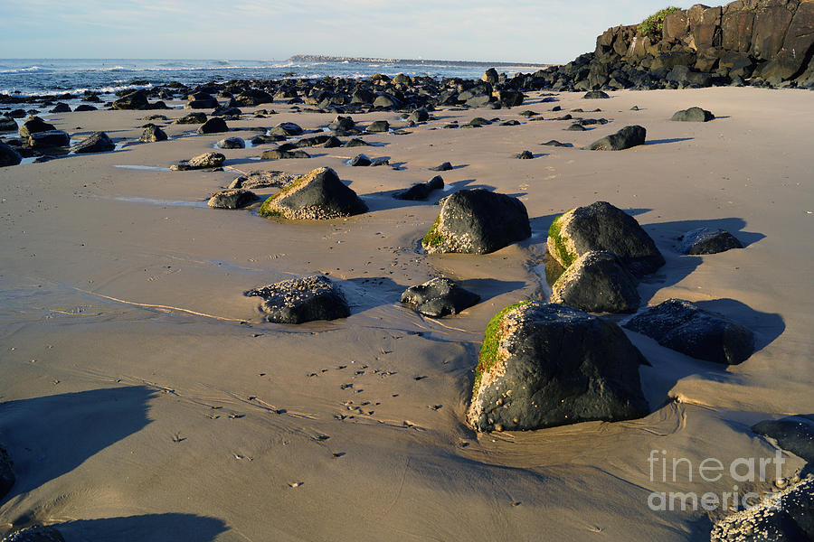 Sand Photograph - Beach Stones I by Cassandra Buckley
