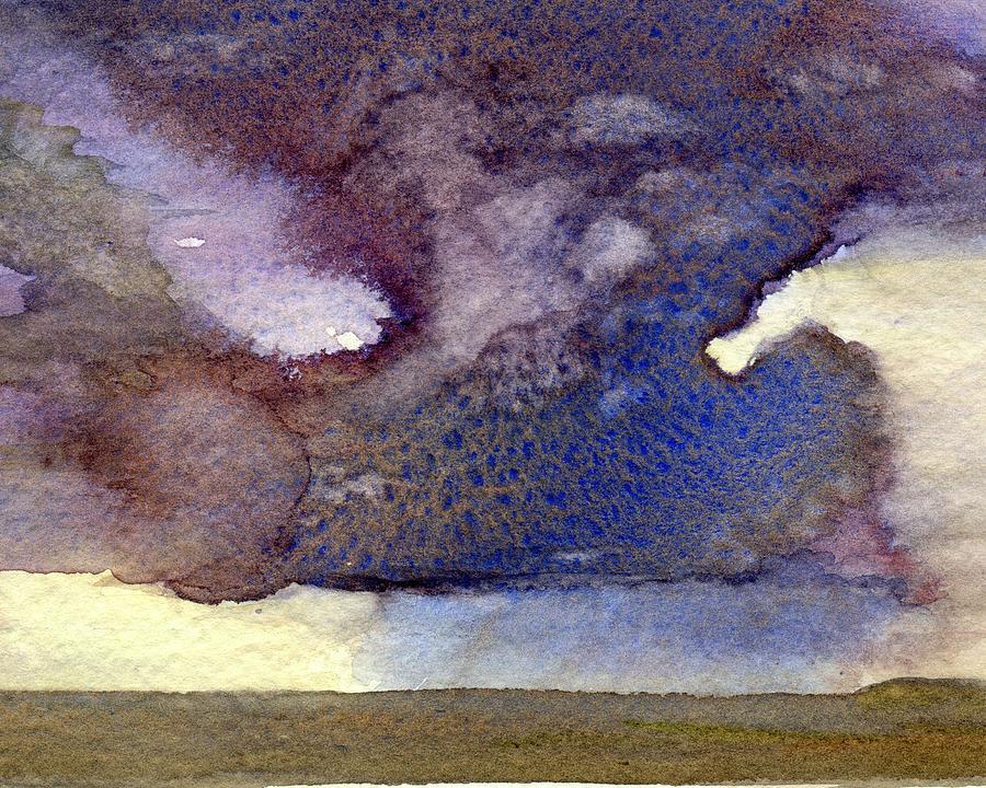 Beach Storm Cloud by Peter Senesac