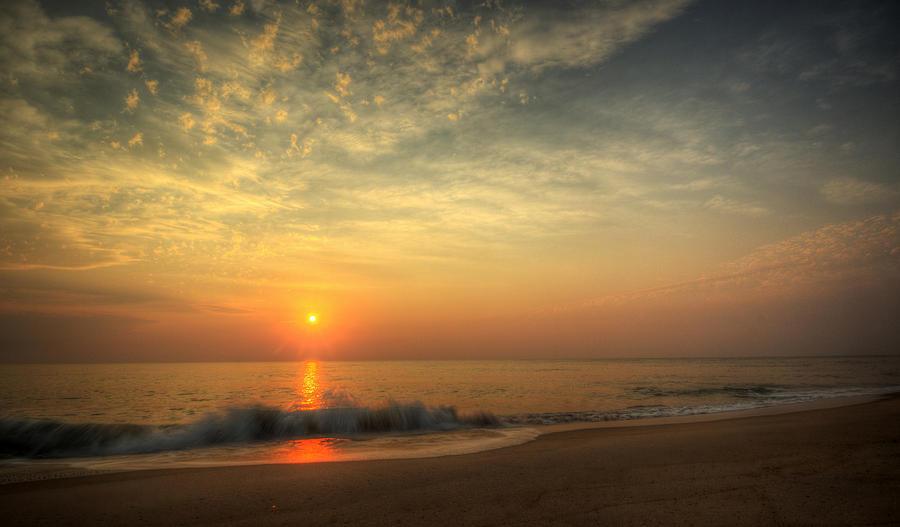 Beach Photograph - Beach Sunrise by David Dufresne