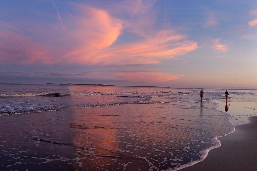 Beach Sunset by Peter DeFina