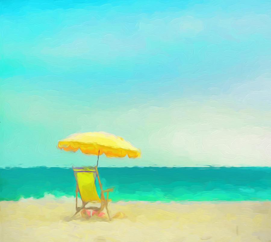 Beach Painting - Got Beach? by Douglas MooreZart