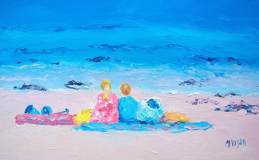 Beach Painting - Beach Vacation by Jan Matson
