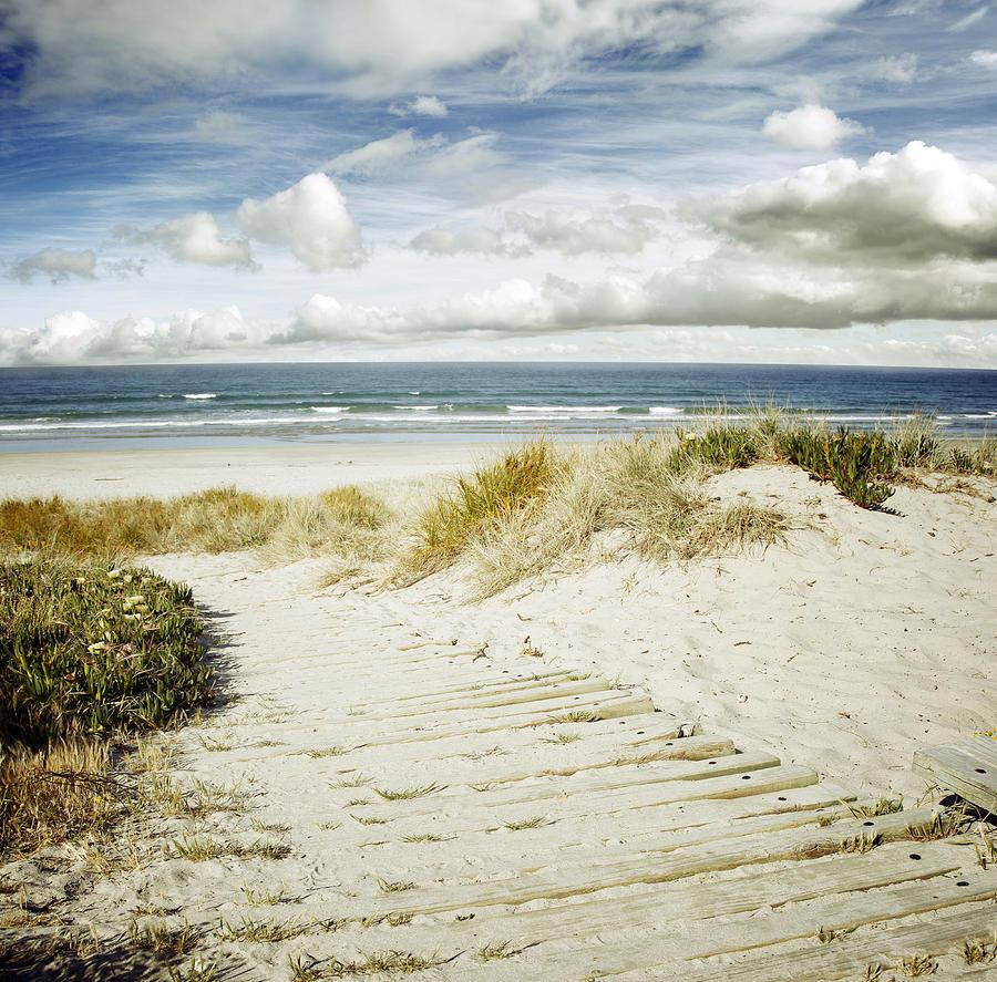 Beach Photograph - Beach View by Les Cunliffe