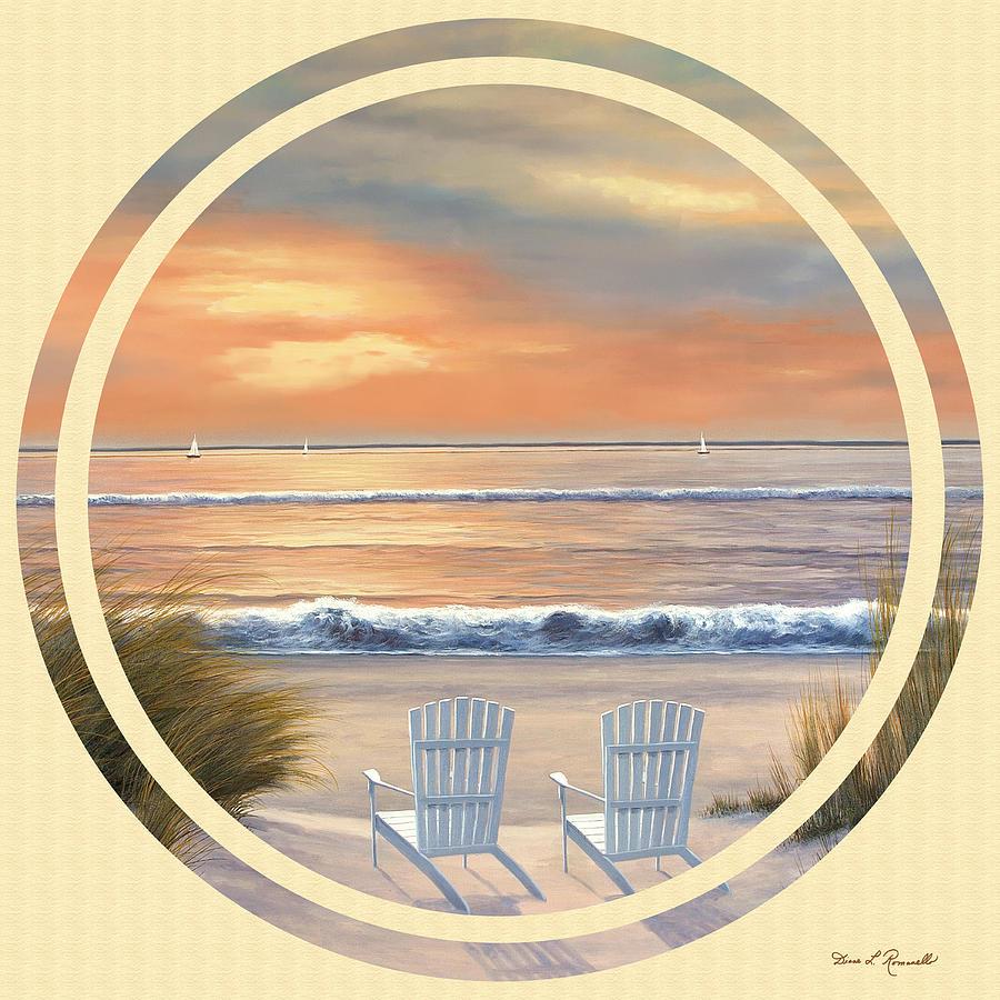 Beach Painting - Beach World by Diane Romanello