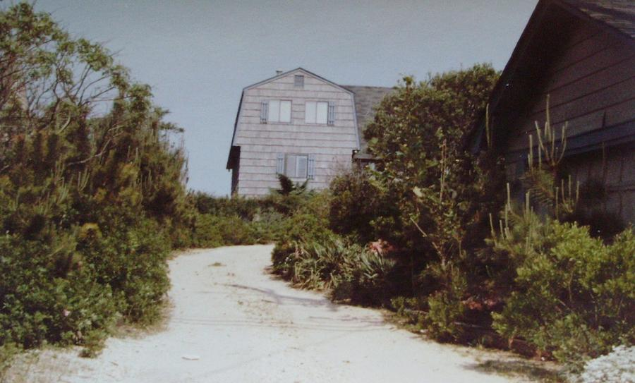 New Jersey Photograph - Beachhouse Face Mantoloking Nj by Joann Renner