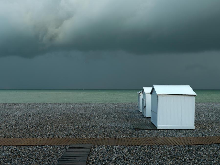 Beach Photograph - Beachhouses by Elisabeth Wehrmann