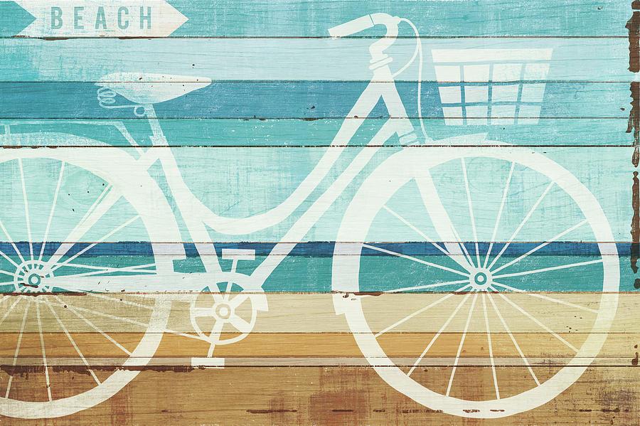 Beach Painting - Beachscape Cruiser I by Michael Mullan