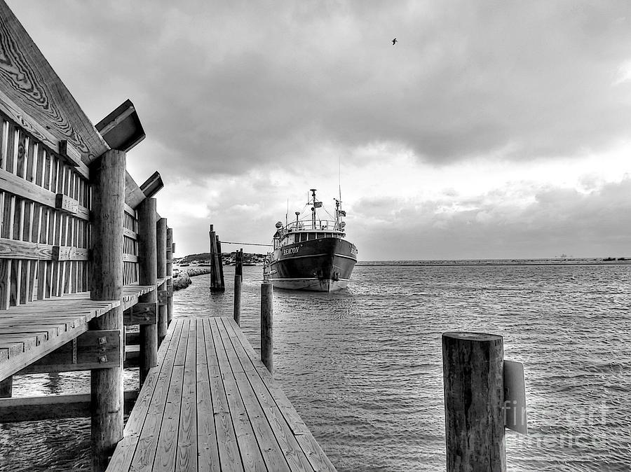 Beacon Photograph - Beacon At Anchor by David Bearden