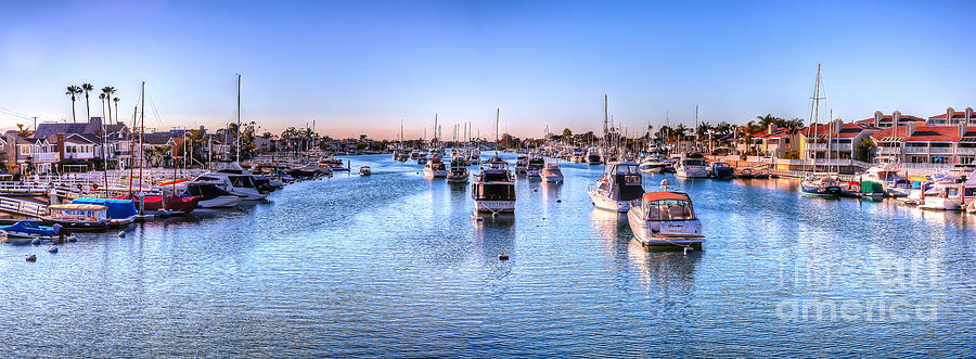 Balboa Island Photograph - Beacon Bay by Jim Carrell