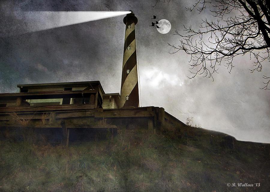 2d Photograph - Beacon  by Brian Wallace