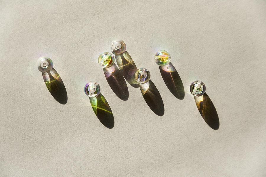 Rainbow Photograph - Beads by Svetlana Sewell