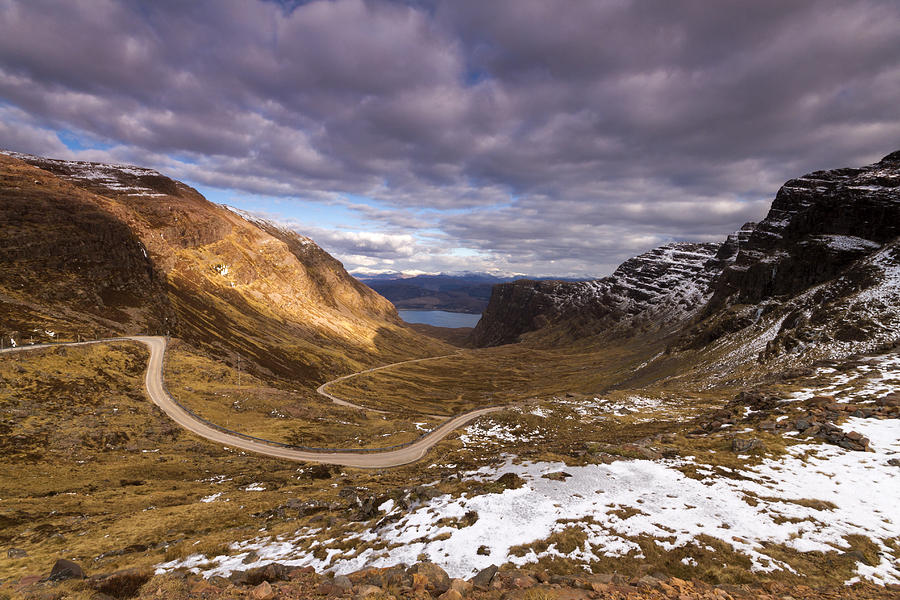 Road Photograph - Bealach Na Ba by Karl Normington